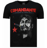 Local Fanatic Che guevara comandante rhinestone t-shirt