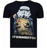 Local Fanatic Stormbitch rhinestone t-shirt
