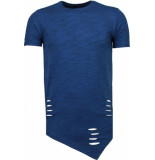 Tony Backer Sleeve ripped t-shirt