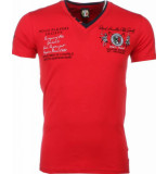 David Copper E t-shirt korte mouwen rood