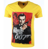 Local Fanatic T-shirt james bond from russia 007