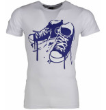 Local Fanatic T-shirt sneakers wit