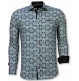 Tony Backer E overhemden slim fit