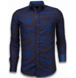 Tony Backer E overhemden slim fit