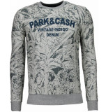 BN8 BLACK NUMBER Park&cash sweater