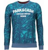 BN8 BLACK NUMBER Park&cash sweater