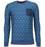 BN8 BLACK NUMBER Flamingo sweater