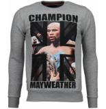 Local Fanatic Mayweather rhinestone sweater