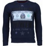 Local Fanatic Trust in my power! rhinestone sweater