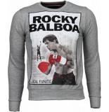 Local Fanatic Rocky balboa rhinestone sweater