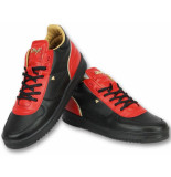 Cash Money Schoenen sneakers luxury black red