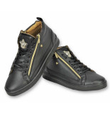 Cash Money Schoenen sneaker bee black gold