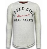 Local Fanatic Longfit sweater i feel like muhammad