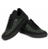 Cash Money Schoenen sneaker low camouflage side