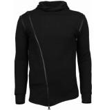 Daniele Volpe Casual hoodie long style zipper