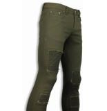 True Rise Biker jeans slim fit biker jeans