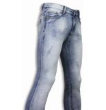 DKLIC Jeans Basic jeans light blue damaged slim fit