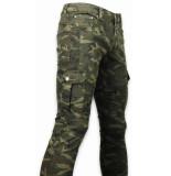 True Rise Side pocket jeans slim fit biker jeans camouflage