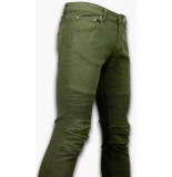 True Rise Ripped jeans slim fit biker jeans
