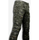 True Rise Ripped jeans slim fit biker jeans zipped knee