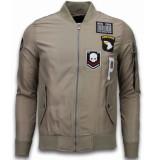 David Copper Bomberjack airborne patches