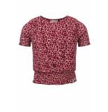 Looxs Revolution Overslag top pink panther voor meisjes in de kleur
