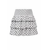 Looxs Revolution Off/white polkadot rokje voor meisjes in de kleur
