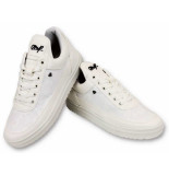 Cash Money Schoenen case army full white