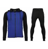 Daniele Volpe Trainingspakken windrunner basic ribbed blauw zwart