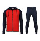 Daniele Volpe Trainingspakken windrunner basic ribbed rood blauw