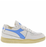 Diadora Sneakers mi basket row cut -blauw wit
