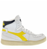 Diadora Sneakers mi basket used -geel wit