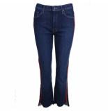 Mother Jeans insider crop step