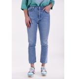 Agolde Jeansbroek riley blauw