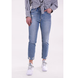 Mother Jeans the tomcat blauw