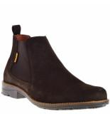 softwalk Chelseaboots donker bruin