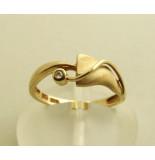 Atelier Christian 14 karaat ring met diamant