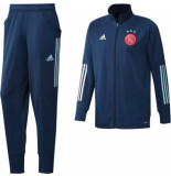 Adidas Ajax trainingspak 2020-2021 kids mystery blue