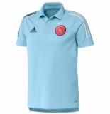 Adidas Ajax polo 2020-2021 ice blue