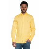 Tommy Hilfiger Casual overhemd met lange mouwen geel