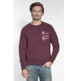 Nudie Jeans Sweater bordeaux
