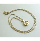 Casio Ocn gouden collier en hanger met diamant