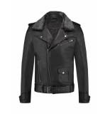 Pure White Leather Jacket