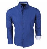 Brentford and Son Jan paulsen heren design overhemd regular fit navy