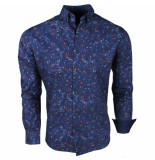 Brentford and Son Jan paulsen heren design overhemd regular fit -