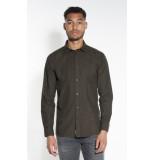 Minimum Riber casual overhemd met lange mouwen