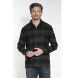 Minimum Fjell casual overhemd met lange mouwen