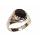 Christian 14 karaat cachet ring