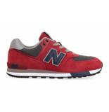 New Balance Gc574fnb rood