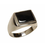 Christian Onyx cachet ring